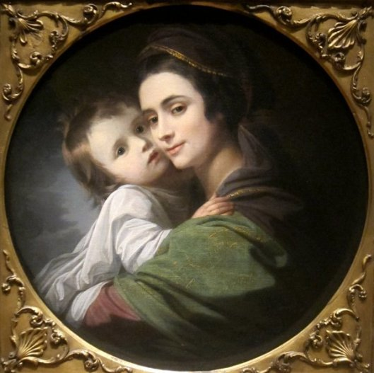 Elizabeth Shewell West And Her Son, Raphael