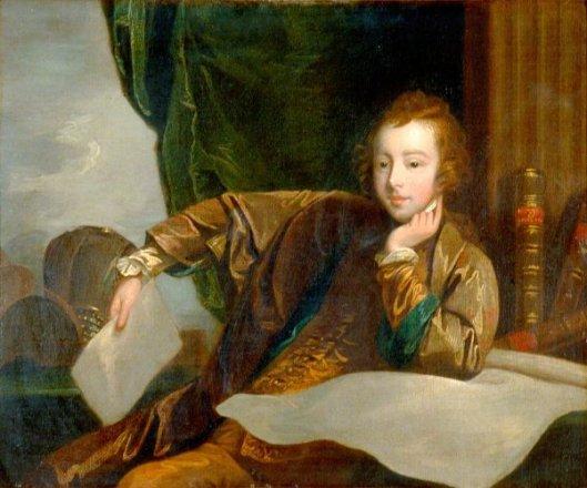 General James Wolfe, When A Boy