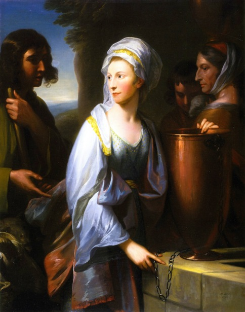 Mary, Wife Of Henry Thompson Of Kirby Hall, As Rebecca At The Well