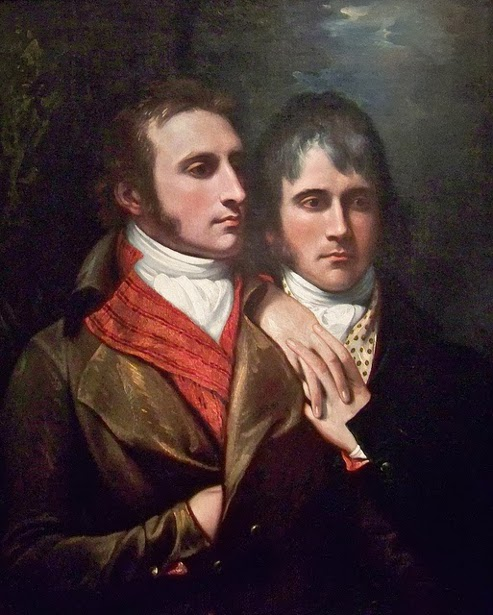 Raphael West And Benjamin West jr, The Sons Of The Artist