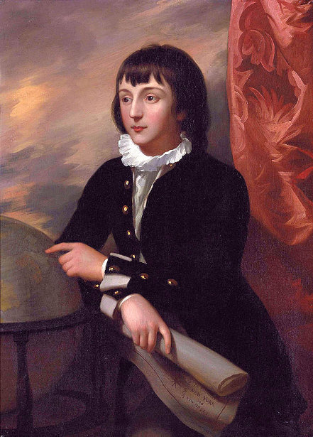 William Wellesley-Pole, Aged 14
