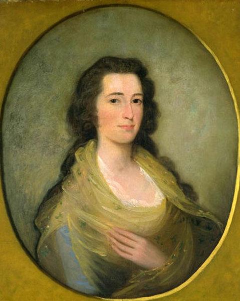 Mary Stiles Holmes (Mrs. Abiel Holmes)