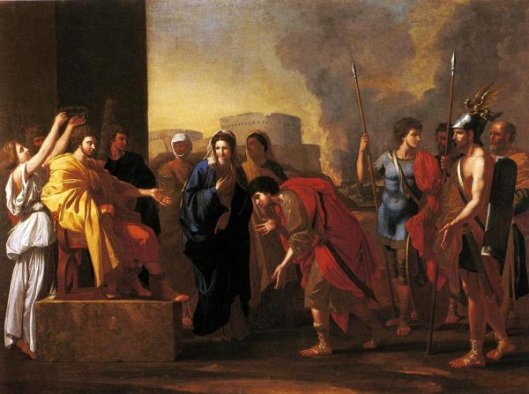 The Continence Of Scipio (after Nicholas Poussin)