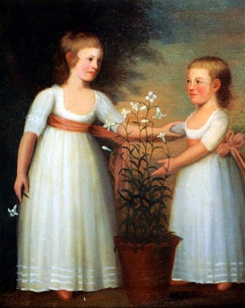 The Davis Children, Eliza Cheever And John Derby