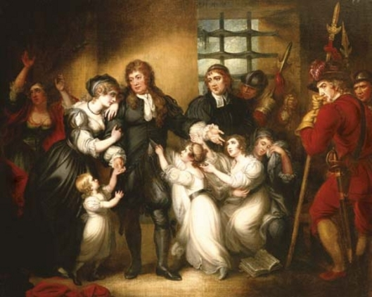 Lord William Russell With His Family Before His Execution
