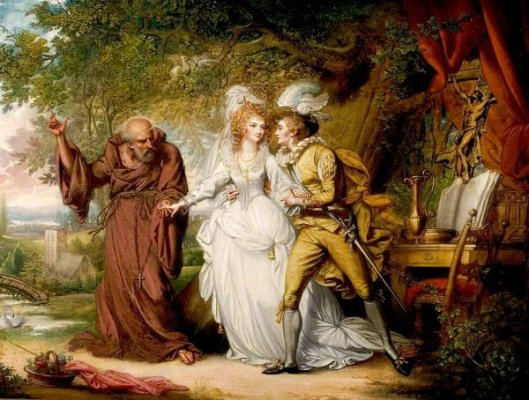 Romeo And Juliet With Friar Lawrence