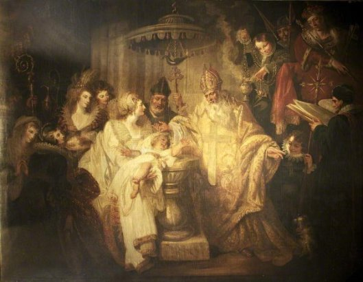 The Baptism Of Henry VIII, 1491