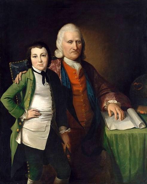 Cadwallader Colden And His Grandson Warren De Lancey
