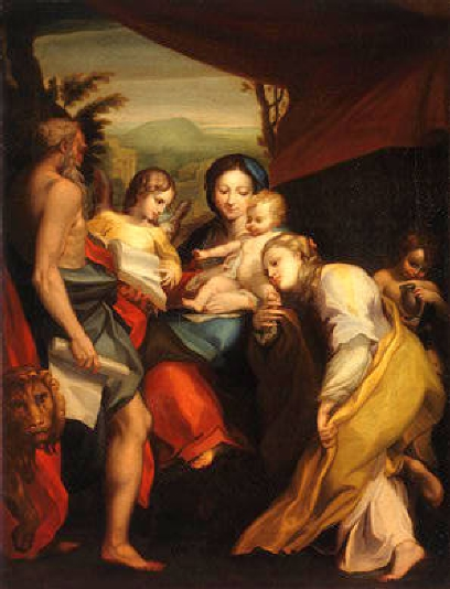 Madonna of Saint Jerome