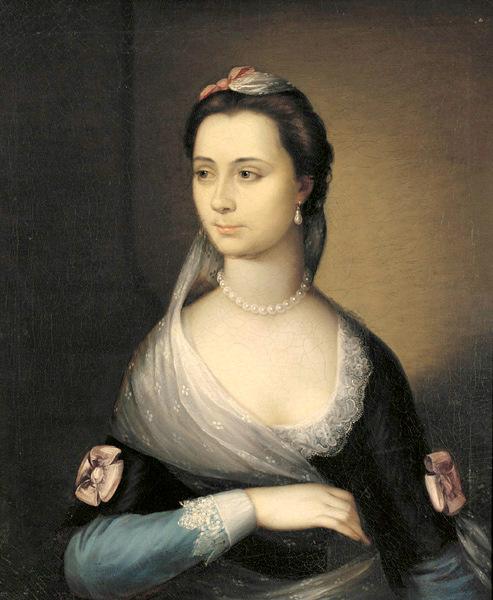 Mrs. Benjamin West (Elizabeth Shewell)