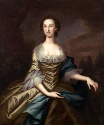 Portrait of Mary Carroll (Mrs. Ignatius Diggers)