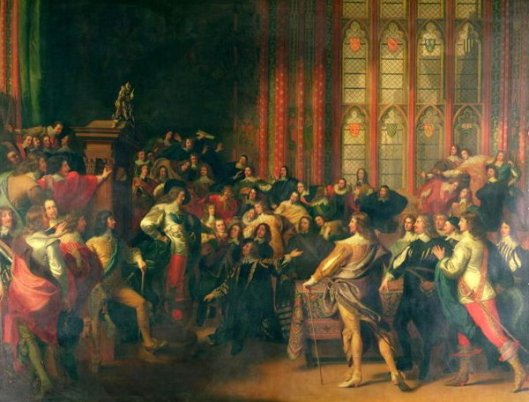 Charles I Demanding The Five Members In The House Of Commons In 1642