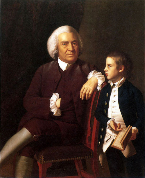 William Vassall And His Son Leonard