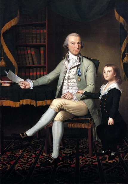 Colonel Benjamin Tallmadge And Son William