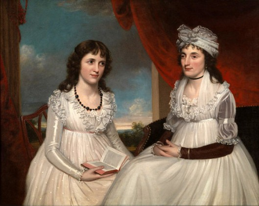 Elizabeth Fales Paine And Her Aunt