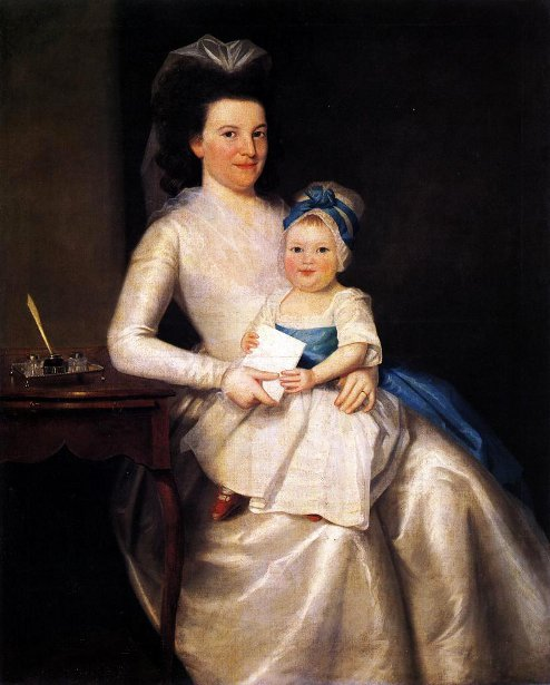 Lady Williams And Child