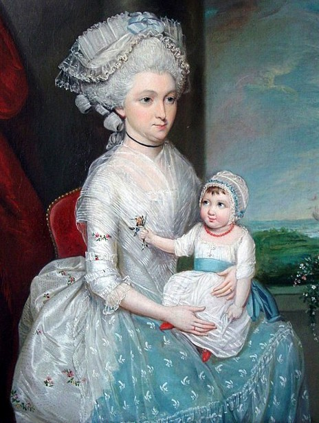 Margaret Whaley Hurst And Her Daughter Frances