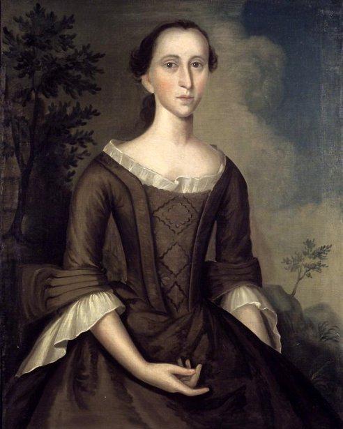 Mrs. John Haskins (Hannah Upham)