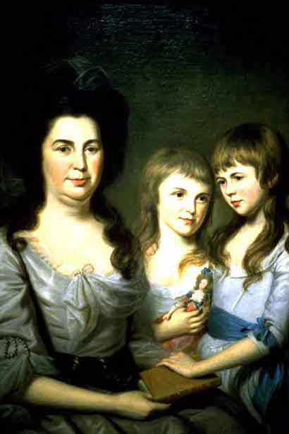 Mrs. Robert Gilmore And Daughters