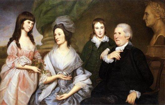 Robert Goldsborough And Family