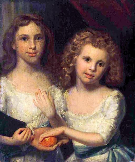 Abigail And Lucretia Callahan - Callahan Children