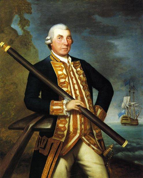 Admiral Richard Kempenfelt