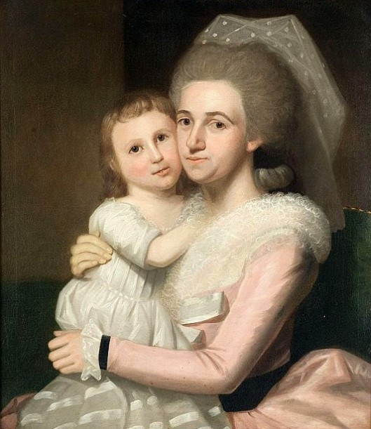 Annie McClellan Lovett And Daughter