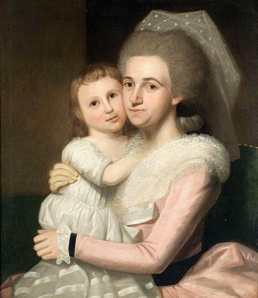 Annie McClellan Lovett And Daughter