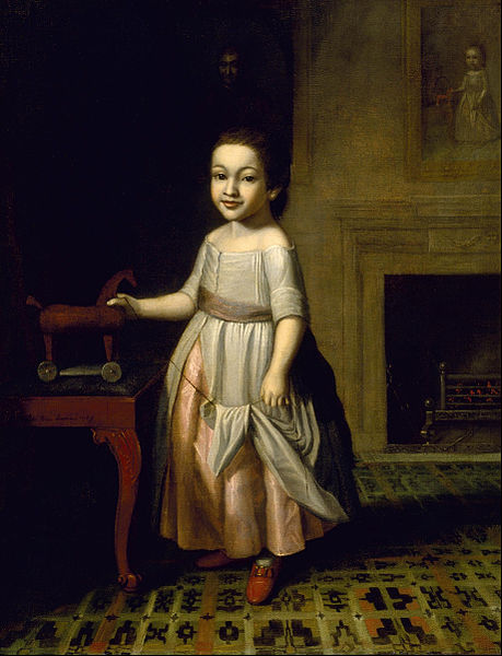 Boy With Toy Horse