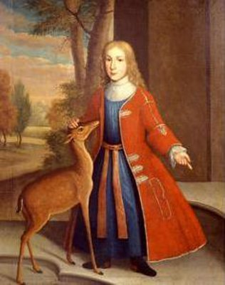 De Peyster Boy With Deer