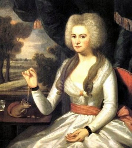 Elizabeth Eliot (Mrs. Gershom Burr)