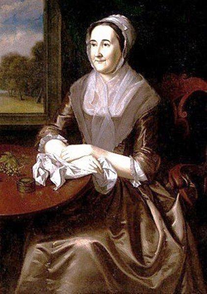 Hannah Lambert (Mrs. Thomas Cadwalader)
