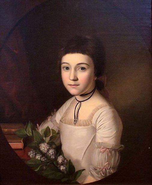 Henrietta Maria Bordley At Age 10