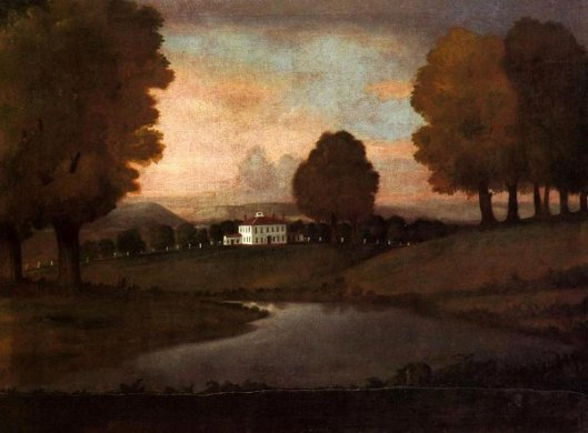 Landscape Of The Ruggles Homestead