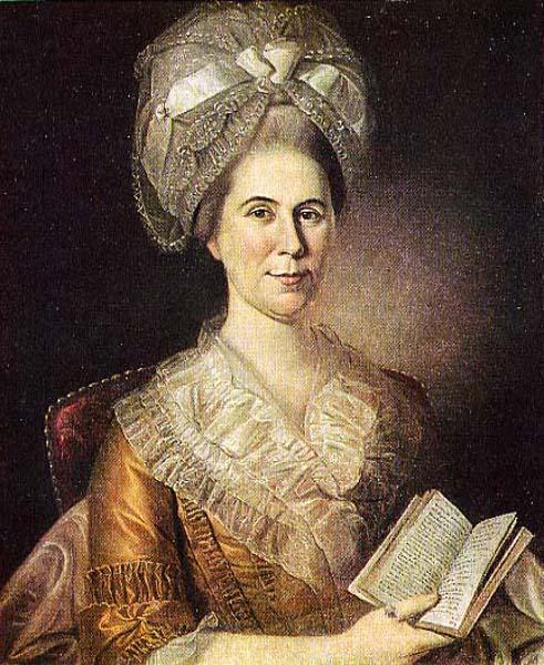 Mrs. Elias Boudinot IV (Hannah Stockton)