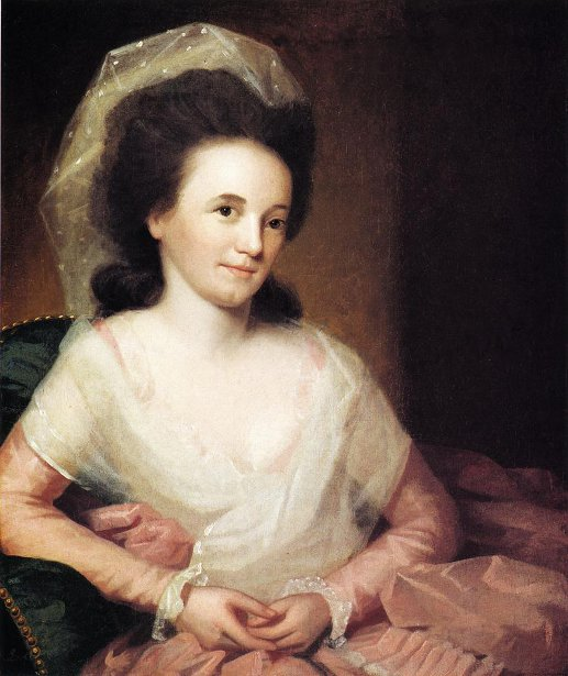 Mrs. John Johnston (Martha Spear)
