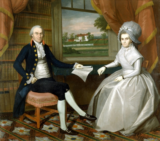 Oliver Ellsworth And His Wife Abigail Wolcott
