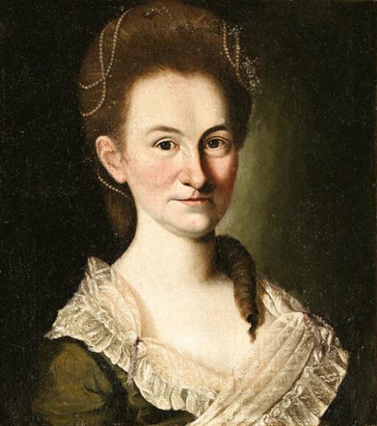 Portrait Of A Lady, possibly Mrs. Peddy Bowen