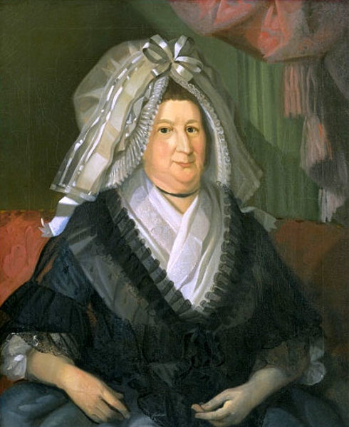 Rebecca Salisbury Waldo (Mrs. Daniel Waldo)