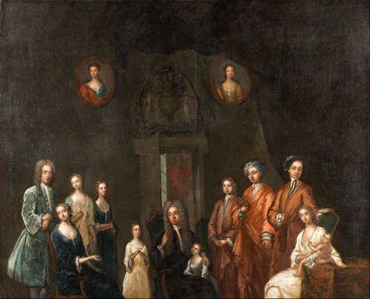 Sir Francis Grant, Lord Cullen, And His Family