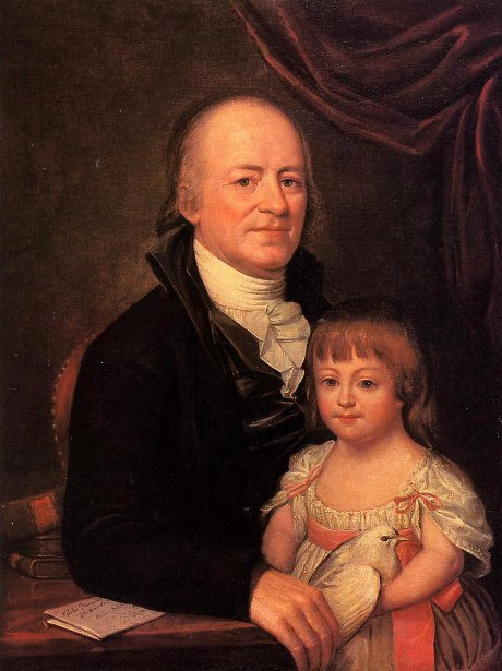 Thomas Elliott And His Granddaughter Deborah Hibernia