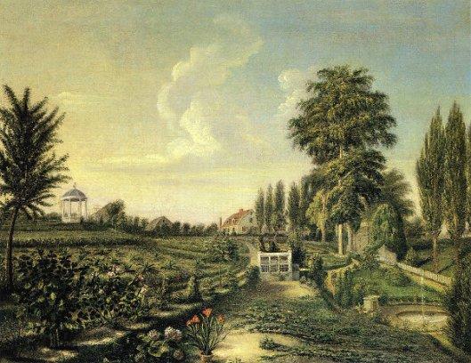 View Of The Garden At Belfield