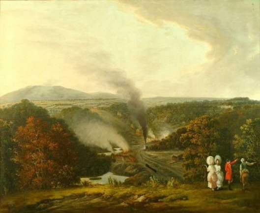 Afternoon View Of Coalbrookdale