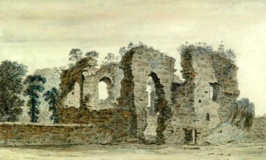 Alberbury Castle West, Shropshire