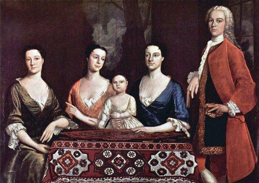 Isaac Royall Family