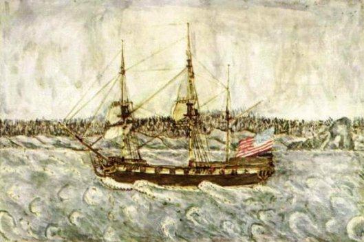 Ship Argo Of Marblehead Bound Home