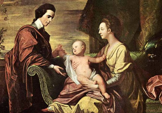 Arthur, Mary And Henry Middleton