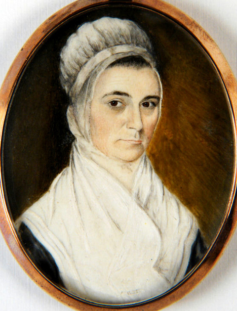 Lady In White Shawl