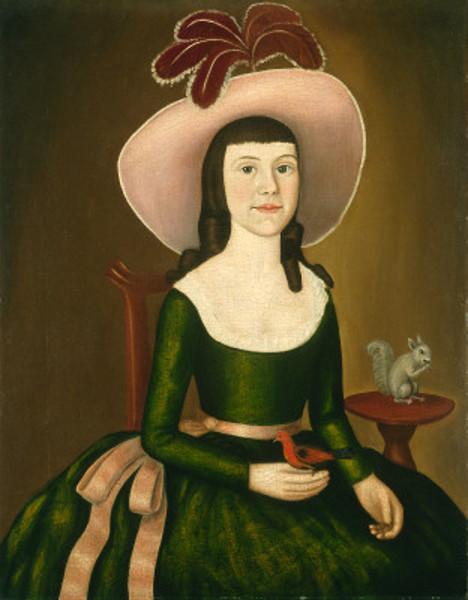 Miss Denison of Stonington, Connecticut (possibly Matilda Denison)