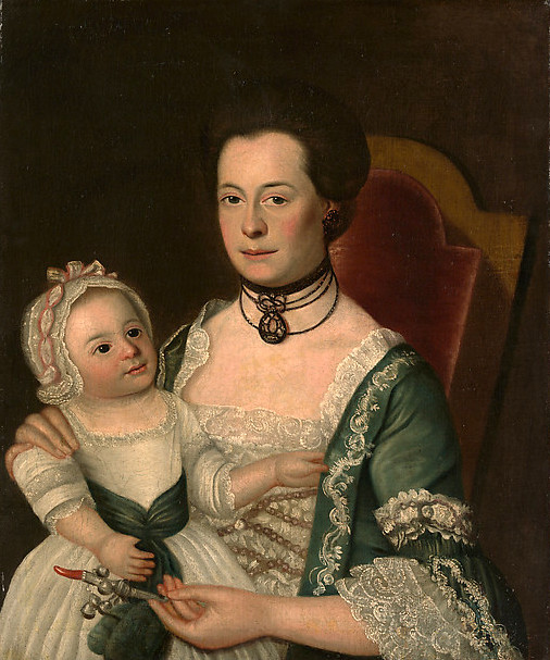 Mrs. Jacon Hurd And Child
